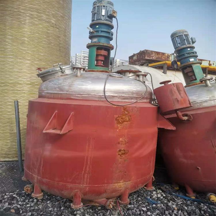 回收二手反应釜 化工厂设备